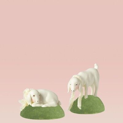 Dept 56 Snowbunnies Collectiable Animal Goats NIB Free Shipping #4024872