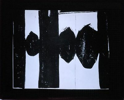 Photo On Glass At Five In The Afternoon By Robert Motherwell