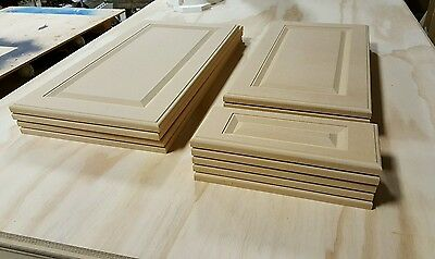 Cut to size MDF,raised panel cabinet doors & draw fronts, printable,unfinished