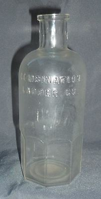 Scarce Soda/Acid Fire Extinguisher Glass Bottle-Combination Ladder Co-1890s