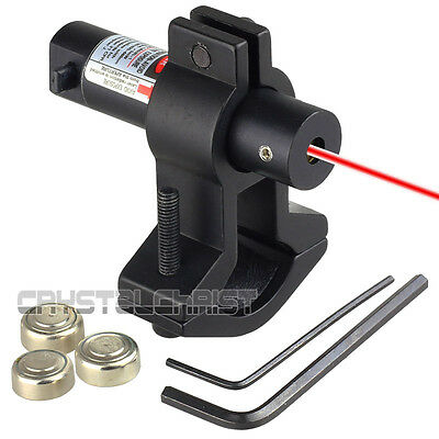 Red Laser Dot Sight With Universal Barrel Mount On/Off Switch 650nm