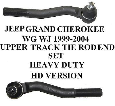 Jeep Grand Cherokee Wg Wj Upper Outer Track Tie Rod Ends X 2 01-04 New Hd