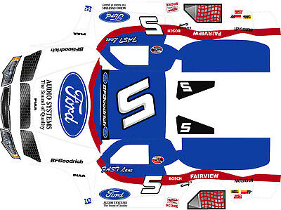 Losi 5ive T  Ford Rough Riders Theme wrap decals stickers  BIG FLEX ROVAN