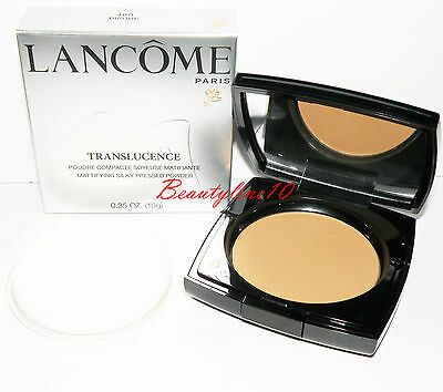 Lancome Translucence Mattifying Silky Pressed Powder -400 Bisque 0.35 oz. / 10 g