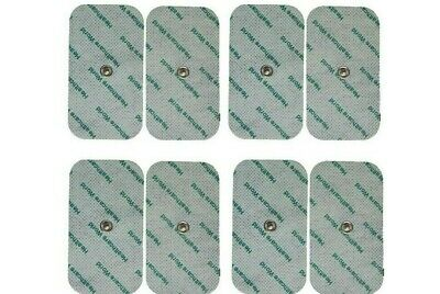 8 Tens Electrode Stud Pads Quality Tens Pads For Beurer, Sanitas Tens Machines