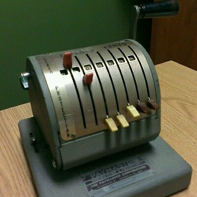 Vintage Paymaster Series 400 Embosser Protector and Check Writer