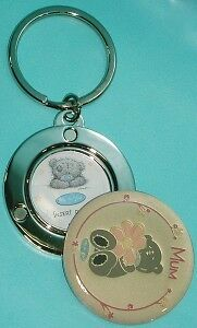 Me To You Tatty Teddy 'Mum' Keyring with Photo Locket Mothers Day Gift