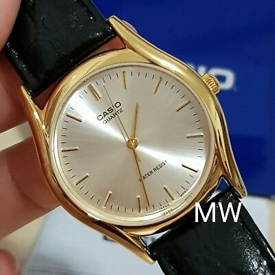 072975a7f46 Casio Men s Classic Leather Strap Analog Quartz Watch Mtp-1094Q-7A Mtp1094  New