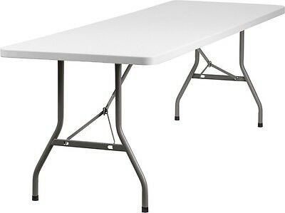 "30""X 96"" Commercial Quality Plastic Folding Table - Banquet Table"