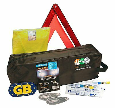 New Euro Travel Kit All You Need For European Holiday Motoring Car Van Caravan