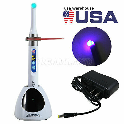 USPS!Dental Cordless Curing Light i LED Lamp fit Woodpecker 1 Second Cure 2300mw