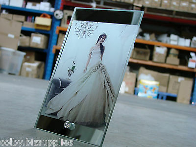 10x Glass Photo Frame 230mmx150mm for Dye Sublimation Printing with Gift Box