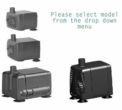 Hidom Submersible Water Pump - Aquarium Fish Tank Water Feature 200 - 1000 lph