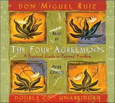 The Four Agreements Audiobook Book On Cds New Don Miguel Ruiz
