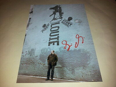 "Louie Pp Signed 12""x8"" Inch Poster Louis C.k. Comedy"