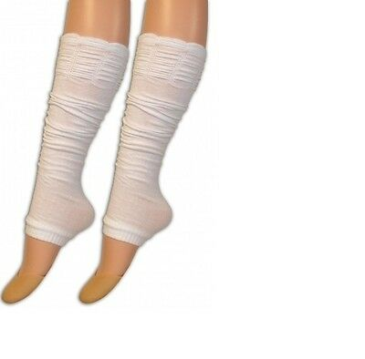 Rouge Top Leg Warmers- In White Colour.