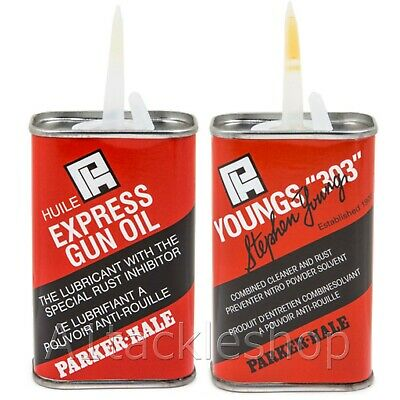 Parker Hale Gun Cleaning Oil and Solvent - Choose Youngs 303 or Express
