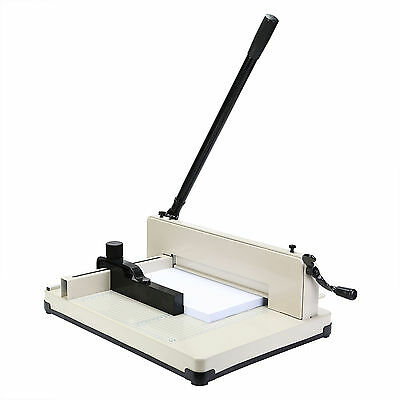 """New Heavy Duty Guillotine Paper Cutter - 12"""" Commercial Metal Base A4 Trimmer"""