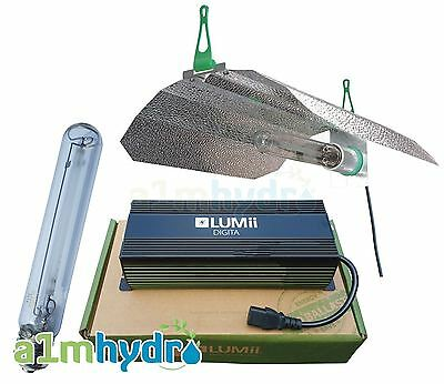 Lumii 600W Ballast Digital Complete Grow Light Kit Hydroponics