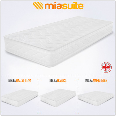 MATERASSO H 18 CM IN POLIURETANO o WATERFOAM ORTOPEDICO  ANTIACARO ANALLERGICO