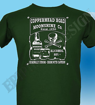 Steve Earle Inspired T-Shirt Copperhead Road Booze Rock Vietnam Alt Country