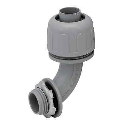 "1""  Non-Metallic Liquid Tight Electrical Conduit Angle Fitting Connector"