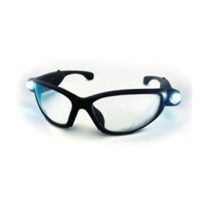 SAS Safety 5420-25 Lightcrafters LED Inspectors Readers Safety Glasses