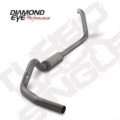 Diamond Eye 4 in Turbo-Back Exhaust SS for 99-03 Ford 7.3L Diesel, SH