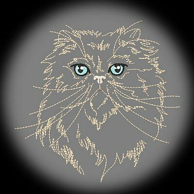 Purr-Fect Persians  - 30 Machine Embroidery Designs (Azeb)