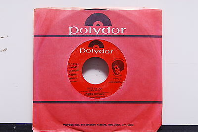 """JAMES BROWN """"Kiss In 77/Woman"""" 45rpm Soul Funk 7"""" NM company sleeve"""