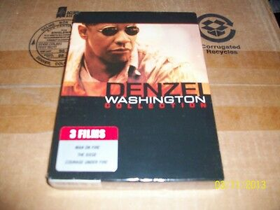 THE DENZEL WASHINGTON COLLECTION BRAND NEW & FACTORY SEALED!!!!! 3 MOVIES!!!!!!!