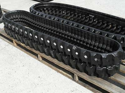 Single Mini Excavator Rubber Track - CAT YANMAR HITACHI SUMITOMO [PP025]