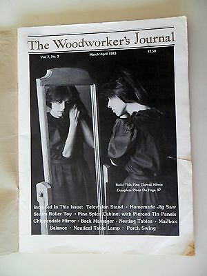 The Woodworkers Journal March/April 1983 Porch Swing Nesting Tables Projects
