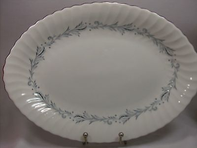 Syracuse Sonata Oval Serving Platter Silhouette China
