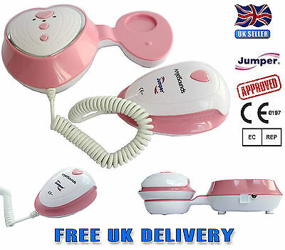 Angelsounds Baby Fetal Doppler Listening Baby Heart Beat Monitor JPD-100S3 NEW