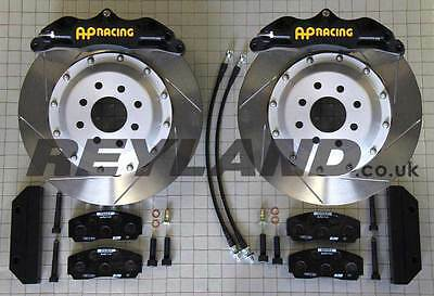 BMW E36, M3 etc  330mm front brake kit with AP Racing 4 pot calipers