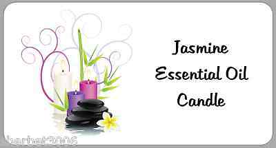 24 x Personalised Stickers Candle Labels for Homemade Candles Candle Making