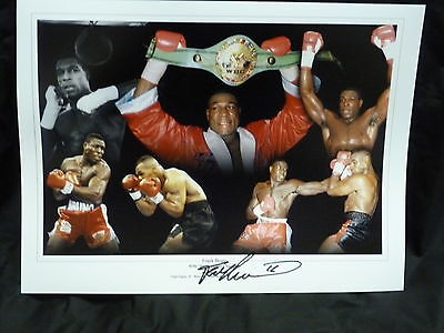 Frank Bruno Signed 12x16 Boxing Montage : 4