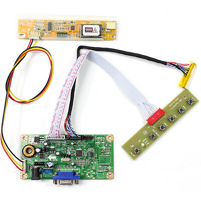 LCD VGA driver board for 14.1inch LTN141W1 LP141WX1 LP141WX3 1280x800 LCD Panel