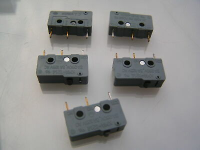 Kyung In Co. KMA1214LP Microswitch 3A 250V Push Button 5 pieces OM0622