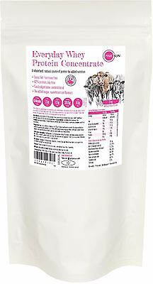 Grass Fed Hormone Free Whey Protein Concentrate Powder Natural Unflavoured 3 kg