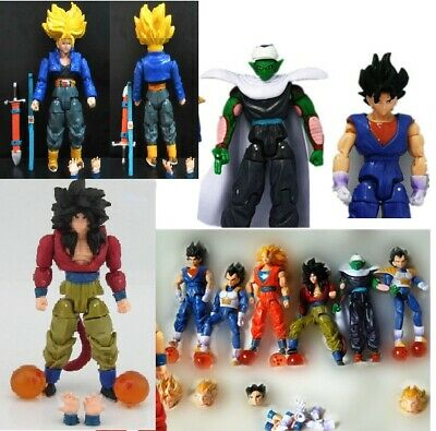 Goku Dragon Ball Action figure Bulma Shenron MAJIN BU Vegeta TRUNKS NUOVO