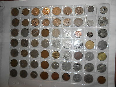"""56 World Coins From All Over The World In A Coin Page Gr8T For The Beginner""""wow"""""""