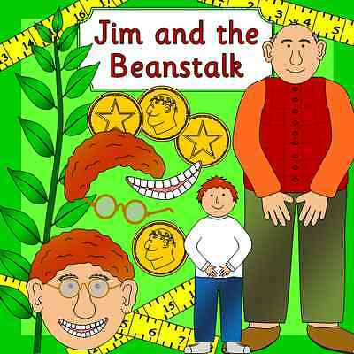 JIM AND THE BEANSTALK story teaching resource on CD- Growing, EYFS, KS1