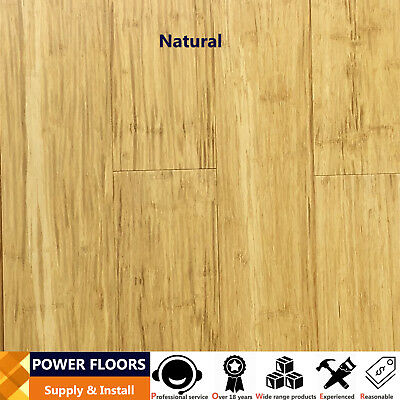 ~SAMPLE~14mm Coffee Bamboo Flooring/We Can Also Install Bamboo Floors