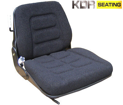 Fabric Suspension Seat - Mini Digger/excavator/skid Steer/tractor/dumper/loader