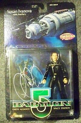 Babylon 5 - Susan Ivanova Figure - Signed By Claudia Christian - Exclusive