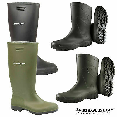 Mens Ladies Dunlop Wellies Waterproof Rain Festival Wellington Boots Sizes UK
