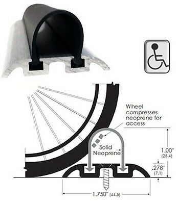 ADA Wheelchair Accessible Shower Threshold - 42 in. long