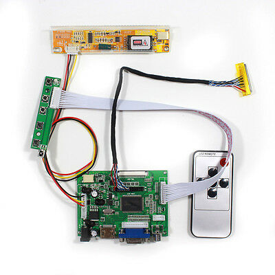 HDMI VGA 2AV Reversing LCD Driver Board for 15inch QD150XL06 1024x768 LCD panel